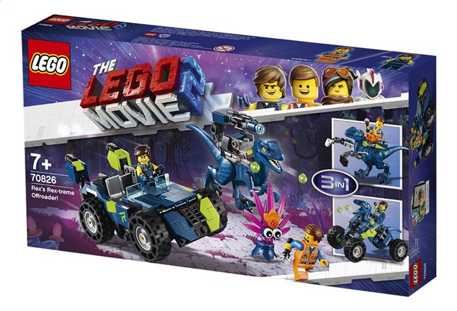 Afbeelding van LEGO The LEGO Movie 2 70826 Rex's Rex-treme offroader from DreamLand