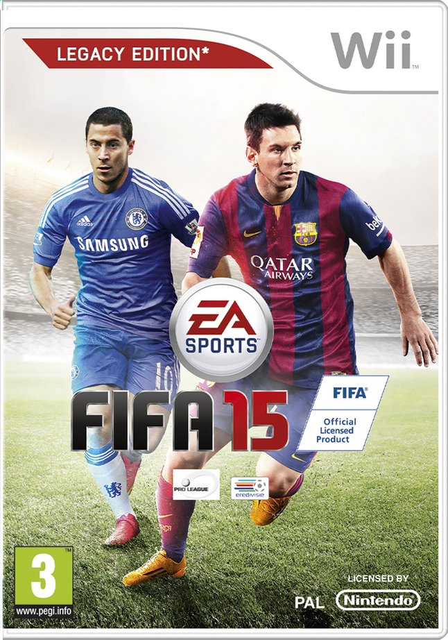 Afbeelding van Wii Fifa 15 Legacy Edition NL/FR from DreamLand