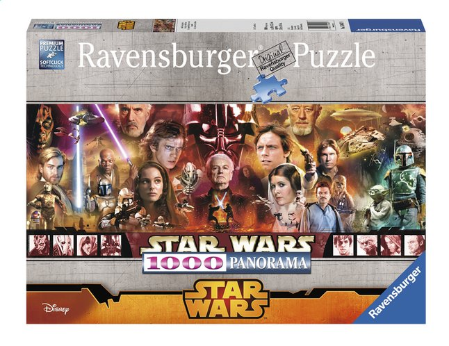 Afbeelding van Ravensburger panoramapuzzel Disney Star Wars Classic from DreamLand