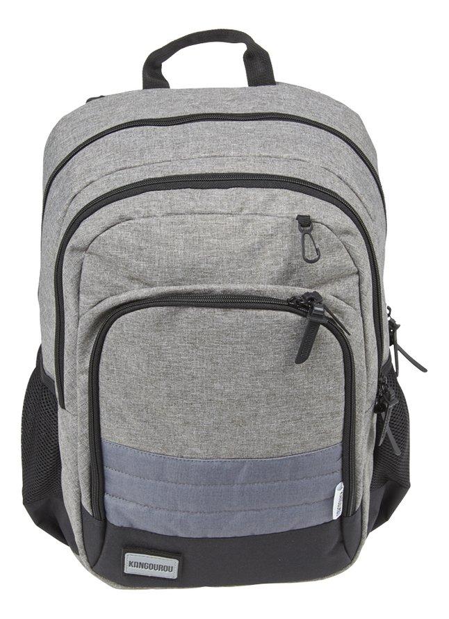 Kangourou sac à dos Stripes Grey Snow