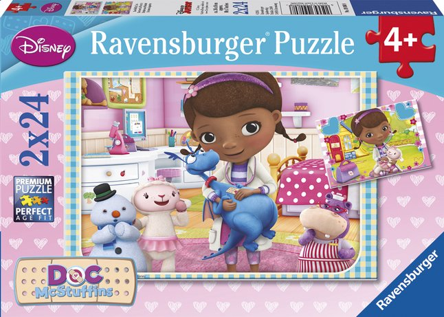 Afbeelding van Ravensburger 2-in-1-puzzel Doc McStuffins from DreamLand