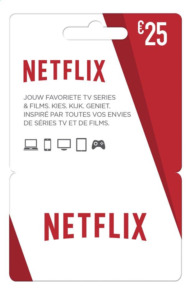 Giftcard Netflix 25 Euro