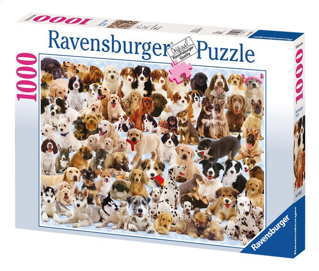 Afbeelding van Ravensburger puzzel Hondencollage from DreamLand
