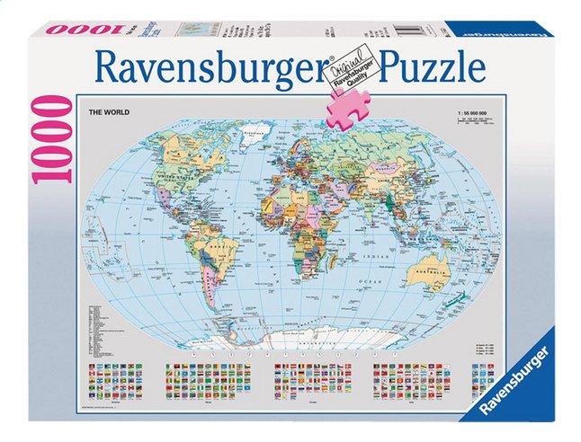 Image pour Ravensburger puzzle Carte du monde politique à partir de DreamLand