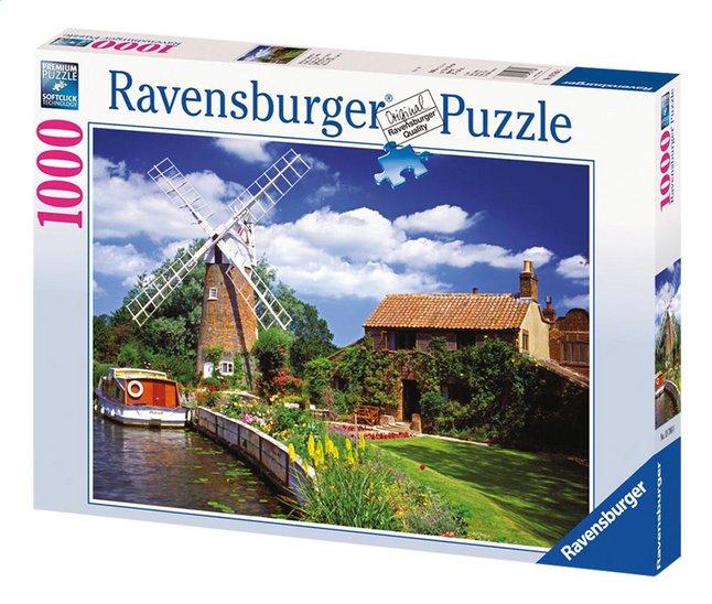 Afbeelding van Ravensburger puzzel Schilderachtige windmolen from DreamLand
