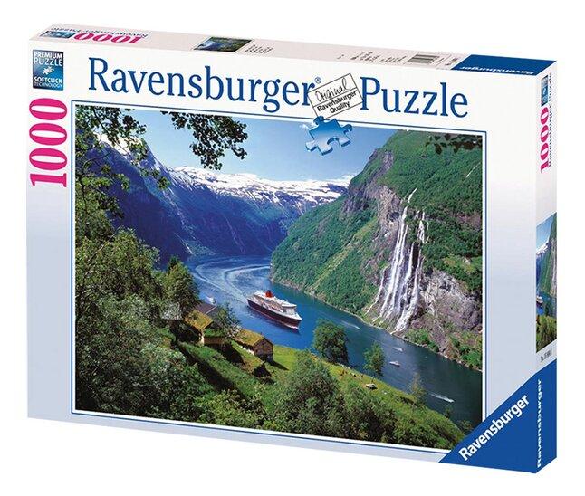 Afbeelding van Ravensburger puzzel Noorse fjord from DreamLand