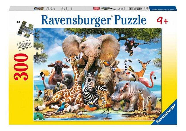 Image pour Ravensburger puzzle Mes amis d'Afrique à partir de DreamLand