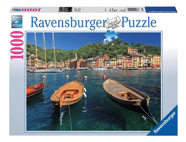 Afbeelding van Ravensburger puzzel Haven in Portofino, Italië from DreamLand