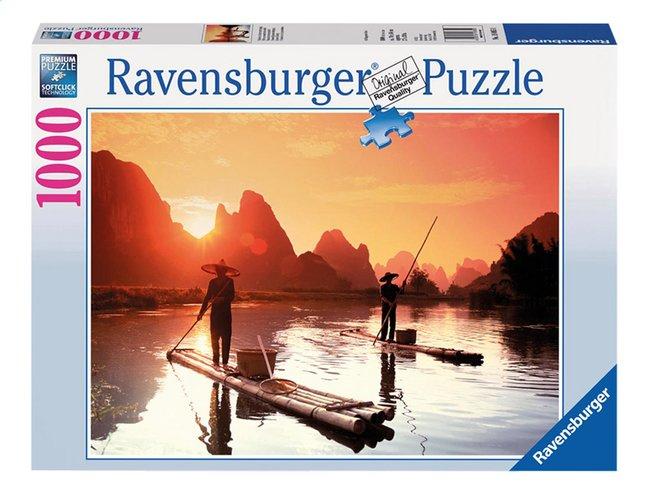 Image pour Ravensburger puzzle Pêche au coucher du soleil à partir de DreamLand