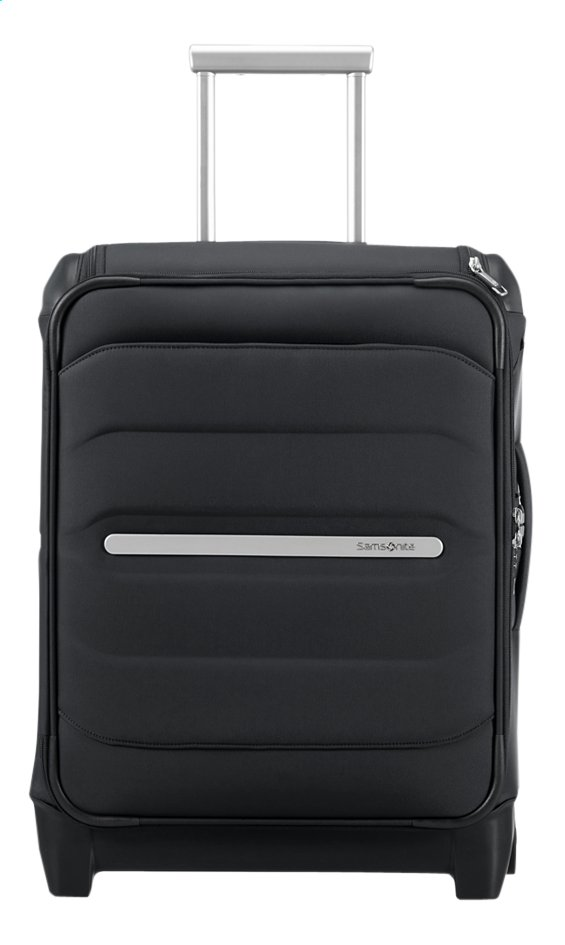 Afbeelding van Samsonite zachte reistrolley Flux Soft Upright Black 55 cm from DreamLand