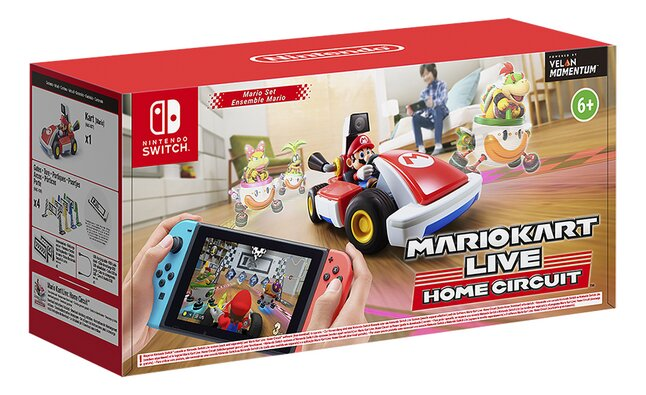 Nintendo Switch Mario Kart Live Home Circuit Mario Set ENG/FR