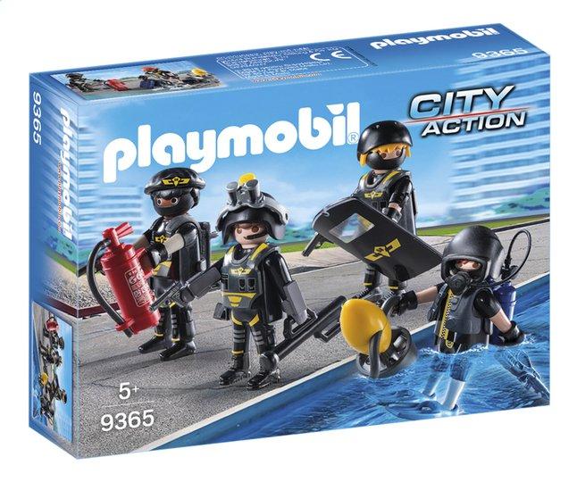 image pour playmobil city action 9365 policiers dlite partir de dreamland - Policier Playmobil