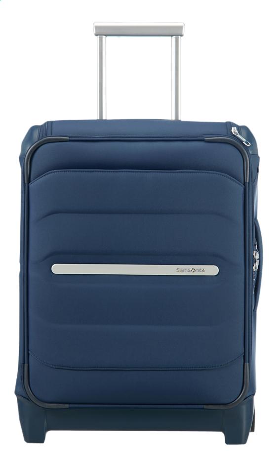 Samsonite valise souple Flux Soft Upright Navy Blue 55 cm