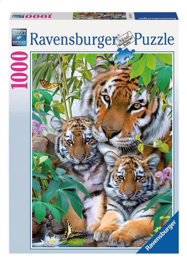 Afbeelding van Ravensburger puzzel Tijgerfamilie from DreamLand