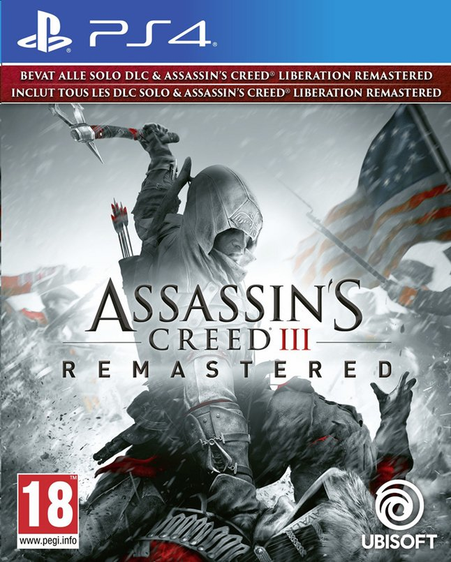 Afbeelding van PS4 Assassin's Creed III Remastered ENG/FR from DreamLand
