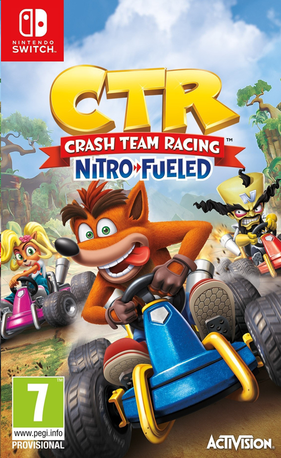 Afbeelding van Nintendo Switch Crash Team Racing Nitro Fueled ENG from DreamLand