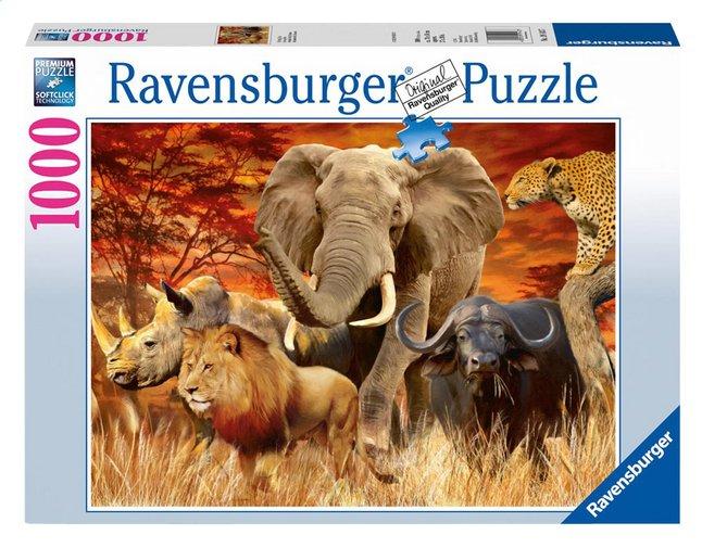 Image pour Ravensburger puzzle Les Big Five à partir de DreamLand