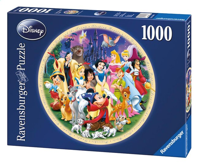 Afbeelding van Ravensburger puzzel Disney's Wonderful World from DreamLand