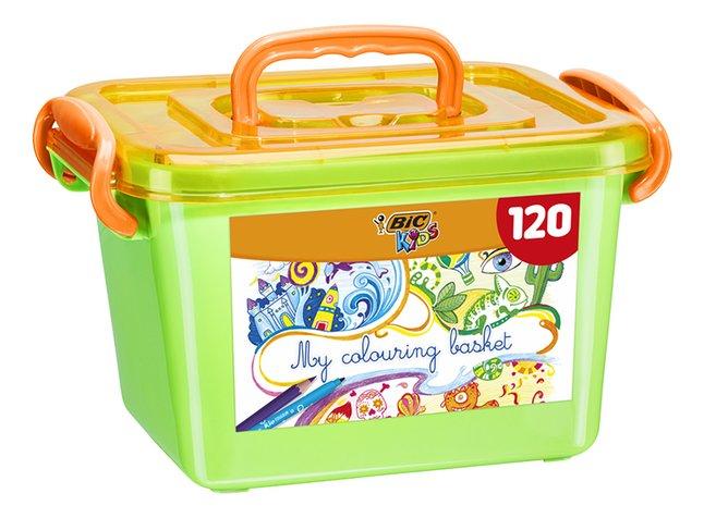 Bic My colouring basket - 120 stuks