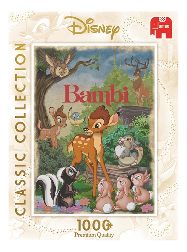 Afbeelding van Jumbo puzzel Disney Bambi Classic Collection from DreamLand