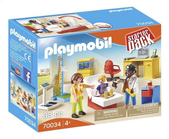 Image pour PLAYMOBIL 70034 StarterPack Cabinet de pédiatre à partir de DreamLand