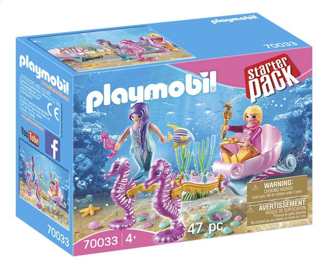 Image pour PLAYMOBIL 70033 StarterPack Sirènes avec carrosse à partir de DreamLand