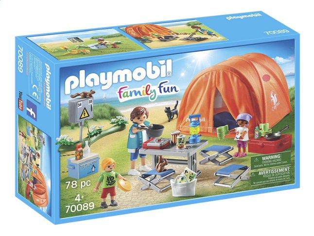 Image pour PLAYMOBIL Family Fun 70089 Tente et campeurs à partir de DreamLand