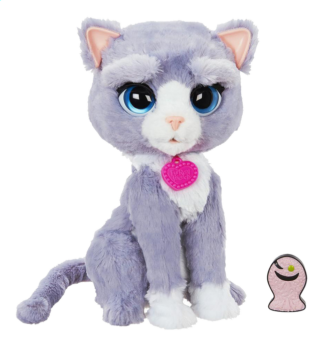 jouet chat qui miaule furreal