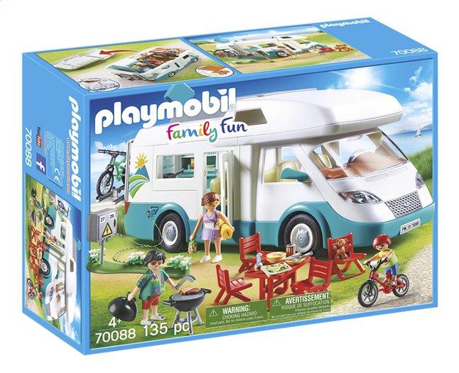 Image pour PLAYMOBIL Family Fun 70088 Caravane et vacanciers à partir de DreamLand