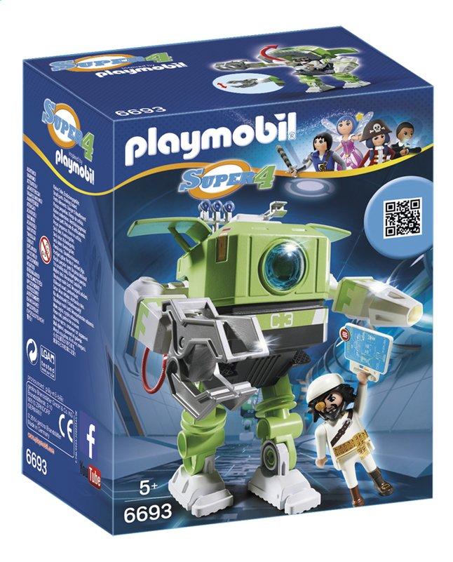 Afbeelding van Playmobil Super 4 6693 Cleano-Robot from DreamLand