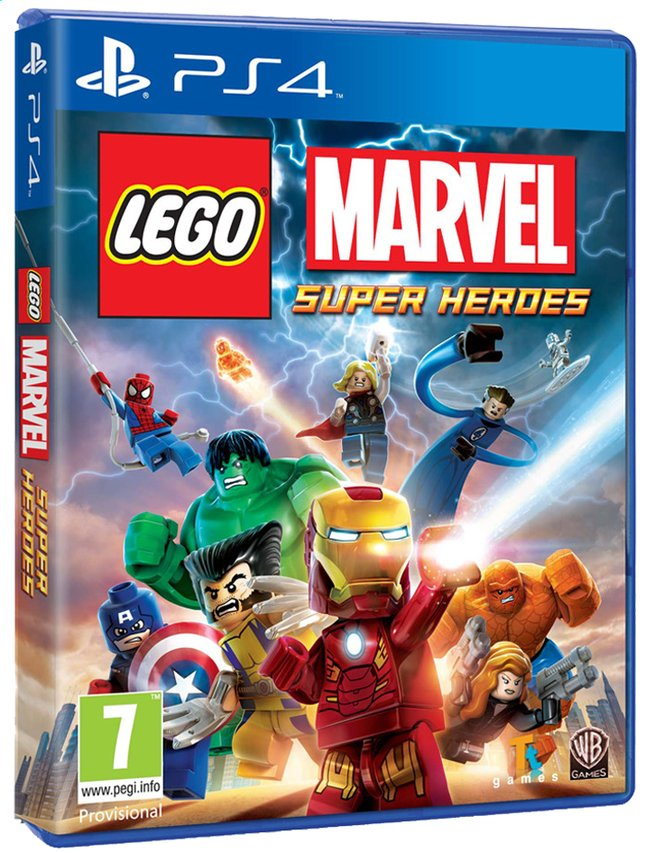 Afbeelding van PS4 LEGO: Marvel Super Heroes ENG/FR from DreamLand