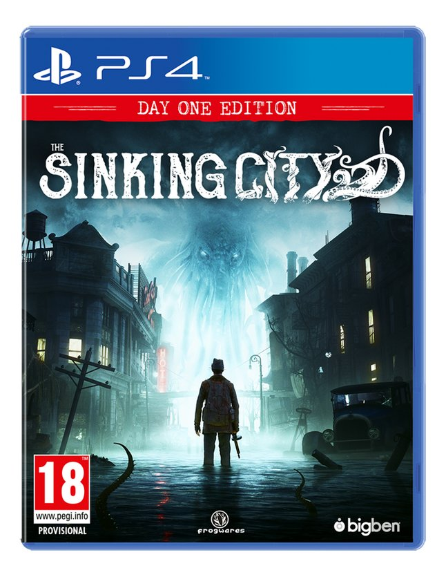 Afbeelding van PS4 The Sinking City NL/FR from DreamLand