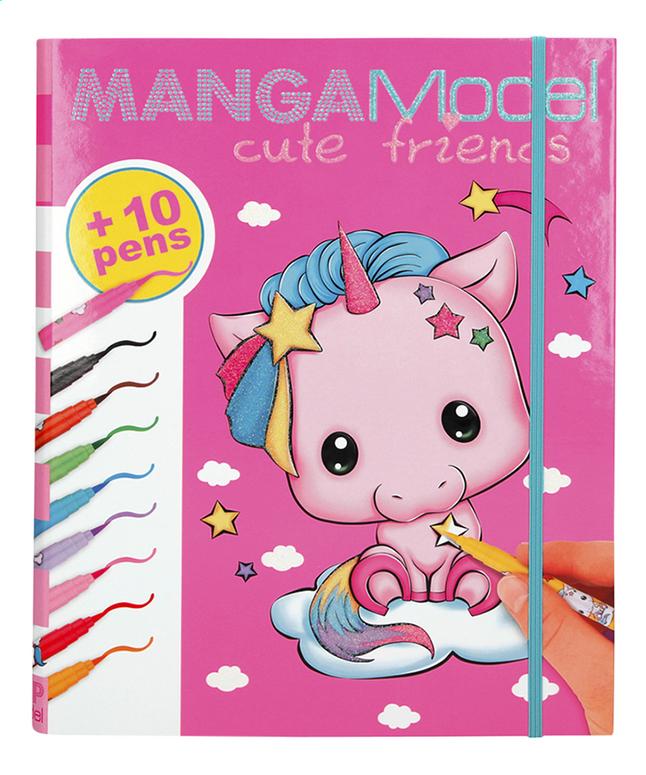 Afbeelding van TOPModel Manga Model creatiemap Cute Friends from DreamLand