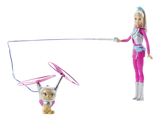 Afbeelding van Barbie mannequinpop Star Light Avontuur met Pupcorn from DreamLand