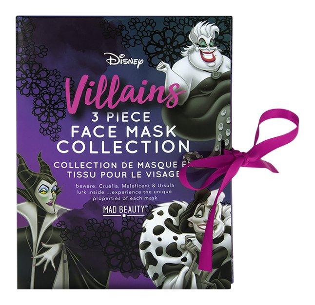 Gezichstmasker Disney Villains - 3 stuks