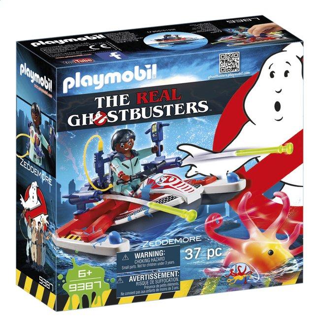 Image pour PLAYMOBIL Ghostbusters 9387 Zeddemore avec scooter des mers à partir de DreamLand