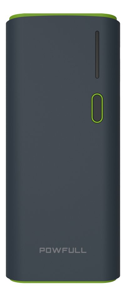 Afbeelding van Powfull Dual USB powerbank 12500 mAh from DreamLand