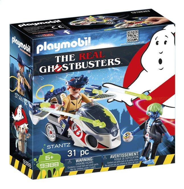 PLAYMOBIL Ghostbusters 9388 Stantz avec véhicule volant