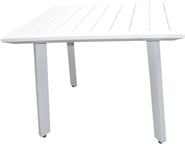 Image pour Table de jardin Nice blanc 100 x 100 cm à partir de DreamLand