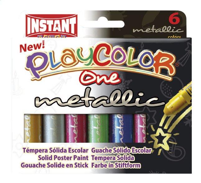 Image pour Instant gouache en stick Playcolor One Metallic - 6 pièces à partir de DreamLand