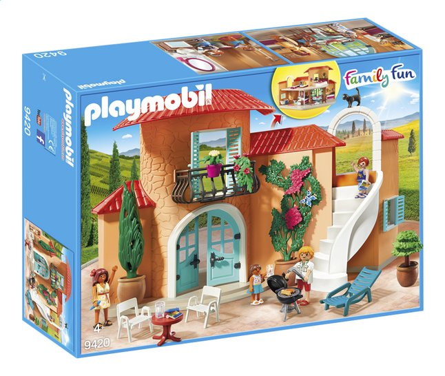 PLAYMOBIL Family Fun 9420 Villa de vacances | DreamLand