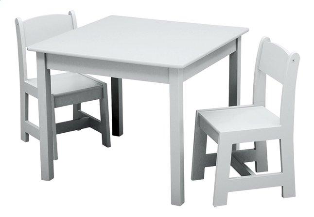 Delta children tafel met stoelen voor kinderen wit dreamland