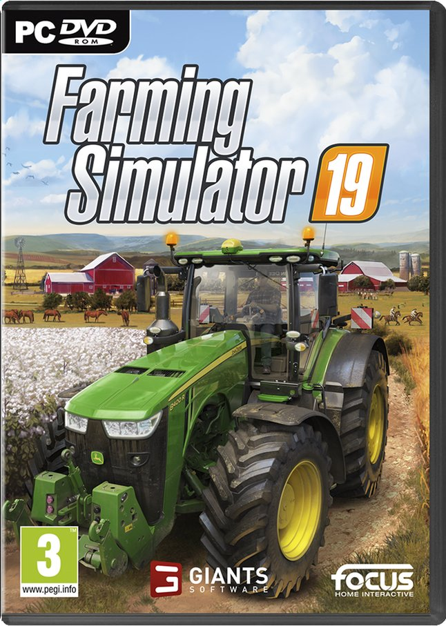Afbeelding van Pc Farming Simulator 19 ENG/FR from DreamLand