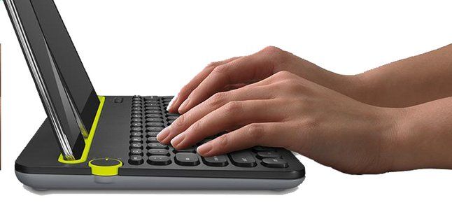 Logitech clavier sans fil Bluetooth K480
