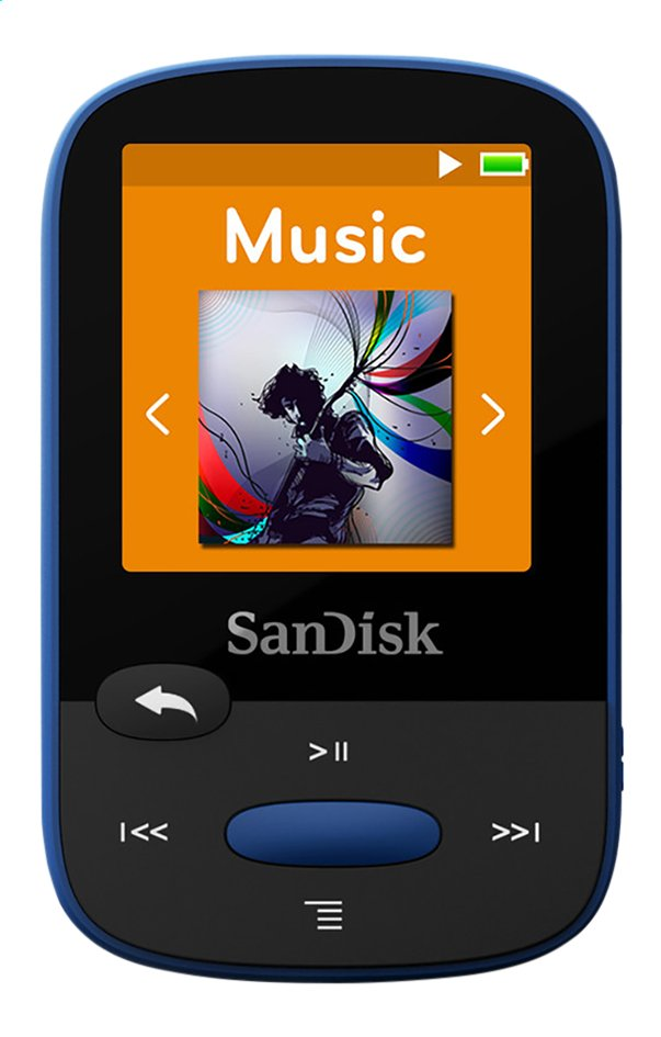 Image pour SanDisk lecteur MP3 Sansa Clip Sport 8 Go bleu à partir de DreamLand