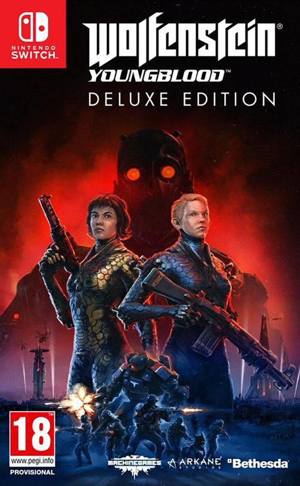 Nintendo Switch Wolfenstein Youngblood Deluxe Edition FR/NL