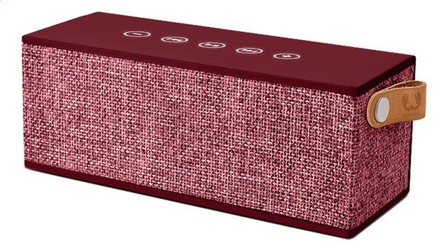 Afbeelding van Fresh 'n Rebel luidspreker bluetooth Rockbox Brick Fabric Edition bordeaux from DreamLand