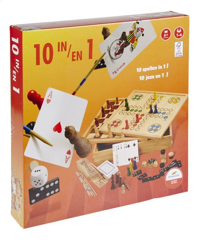 Afbeelding van DreamLand houten speeldoos 10-in-1 from DreamLand