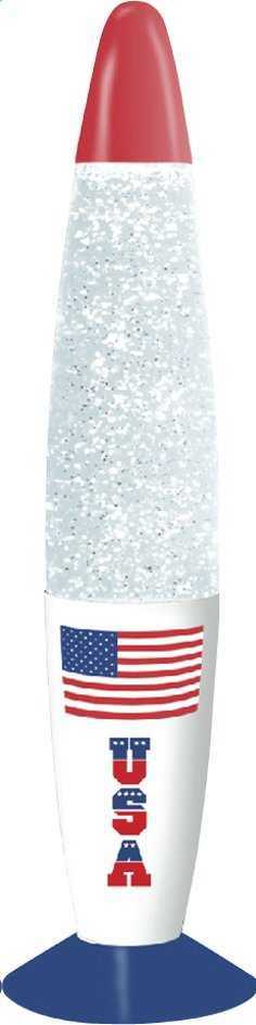 Afbeelding van Lavalamp Kreative Glitter USA from DreamLand