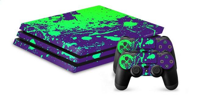 PS4 Pro skins pour console + 2 skins pour manettes Éclaboussures de ...